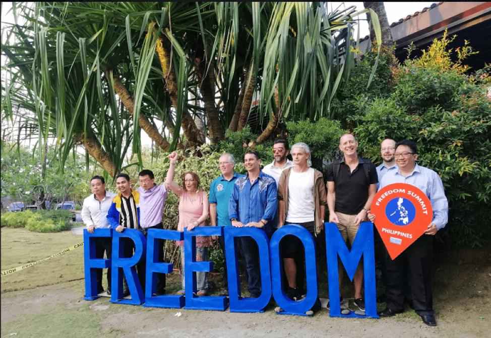 Freedom Global Summit, Philippines, Joan Kaylor Keynote speaker