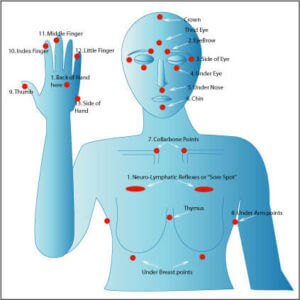 EFT, Tapping Points, meridians