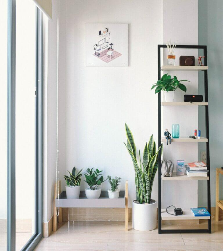 Feeling peaceful and supported in your home is good Feng Shui