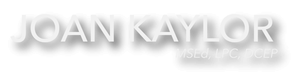 Joan Kaylor Header Graphic Logo
