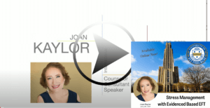 Unversity of Pittsburgh, EFT Emotion Freedom Technique and Joan Kaylor
